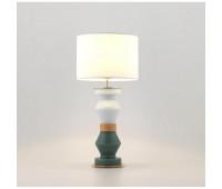 Настольная лампа Aromas Kitta Kitta NAC108 Oro Brillo  Золото,зелёный,белый (пр-во Испания)
