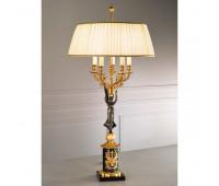 Настольная лампа Arizzi 528/5/L  Состаренное французское золото, темная бронза (пр-во Италия)