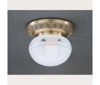 Накладной светильник Reccagni Angelo PL 7744/1 Bronzo arte  Бронза (пр-во Италия)