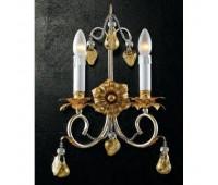 Люстра   Epoca Lampadari 1386/A2 dec. 842 gold fruit  Античное серебряная фольга, античная золотая фольга (пр-во Италия)