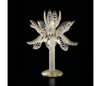 Лампа настольная IDL 436/5L Light gold  Светлое золото,белый (пр-во Италия)