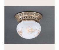 Накладной светильник Reccagni Angelo PL 7725/1 Bronzo arte  Бронза (пр-во Италия)