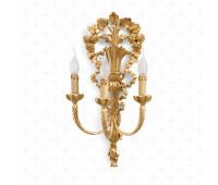 Бра  Roberto Giovannini 816 A039 End XVIII C. Tuscan  Версальское золото (пр-во Италия)