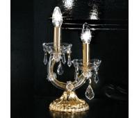 Настольная лампа Masiero VE 944 TL2 MT  Золото, прозрачный (пр-во Италия)