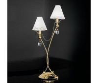 Лампа настольная IDL 397/2L Gold plated 24kt  Золотой, матовое золото (пр-во Италия)