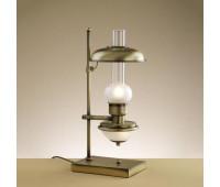 Настольная лампа Lustrarte 107-0622  Матовая латунь антик (пр-во Португалия)