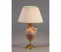 Настольная лампа  Nervilamp 935/1L/CP Pink Fr. Gold  Французское золото (пр-во Италия)
