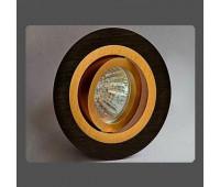 Точечный светильник Donolux A1521-Gold/Black  (пр-во Россия)