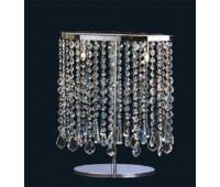 Настольный светильник Arte di murano I Cristalli 7618/LG Cristallo  Серебро (пр-во Италия)