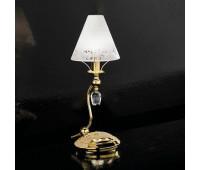 Лампа настольная IDL 397/1L Gold plated 24kt  Золотой, матовое золото (пр-во Италия)