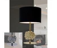 Настольная лампа ILFARI FLOWERS FROM AMSTERDAM T1 10840 Clear Glass 320 02  Хром,прозрачный