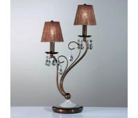 Лампа настольная IDL 301/2L Brown  Коричневый,прозрачный (пр-во Италия)