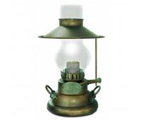 Лампа настольная Moretti Luce ART 1616.AR  Состаренная бронза (пр-во Италия)