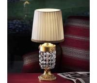Настольная лампа Masiero Elegantia TL1P G03-G05 6006 /TL1 P  Матовое и блестящее (галиваническое) золото g03-g05 (пр-во Италия)