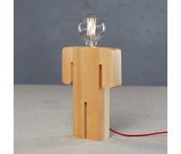 Настольная лампа Loft IT 6053T/S BOY   Светлое дерево (пр-во Испания)