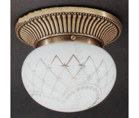 Накладной светильник Reccagni Angelo PL 7700/1 Bronzo arte  Бронза (пр-во Италия)