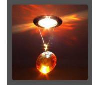 Точечный светильник Kantarel CD 011.3.7 topaz  Золотой (пр-во Россия)