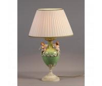 Настольная лампа  Nervilamp 935/1L/CG Green Ivory  Слоновая кость (пр-во Италия)