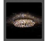 Точечный светильник Kantarel CD 028.3.1AB/9 crystal AB/rosaline  Золотой (пр-во Россия)