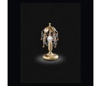 Настольная лампа Renzo Del Ventisette LVP 13963/1 DEC. 055  Золото + античное серебро (пр-во Италия)