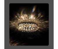 Точечный светильник Kantarel CD 029.2.15 crystal silver shade  Хром (пр-во Россия)