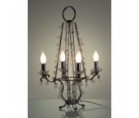 Настольная лампа  Baga, Patrizia Garganti 7212  Черный рутений, прозрачный (пр-во Италия)