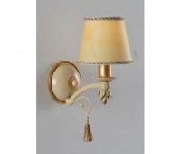 Бра  Epoca Lampadari 1342/A1 dec. 580  Античная золотая фольга, светлый (пр-во Италия)