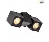 ALTRA DICE SPOT 2 светильник накладной для 2-x ламп GU10 по 50Вт макс., черный SLV 1002215  (пр-во Германия)