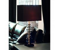 Настольная лампа Lights Dettagli lights Wave WV13-22C309  Золото, черный (пр-во Италия)