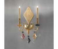 Бра  Masiero Chic A2 N F01  Золото и золотое фольгирование (foglia oro) - f01 (пр-во Италия)