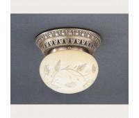 Накладной светильник Reccagni Angelo PL 7722/1 Bronzo arte  Бронза (пр-во Италия)