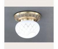 Накладной светильник Reccagni Angelo PL 7740/1 Bronzo arte  Бронза (пр-во Италия)