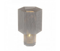 Настольная лампа  DeLight Collection KM0130P-1 silver  Серебро (пр-во Китай)