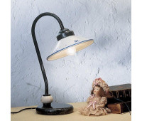 Настольная лампа Ferroluce C157 LU  Черный с серебром (пр-во Италия)