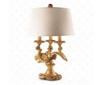 Настольная лампа  Roberto Giovannini 1242 G038 Half XVIII C. Louis XV  Состаренное золото (пр-во Италия)