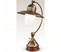 Настольная лампа Cremasco 480/1LA-BRSF-BI   Бронза (пр-во Италия)