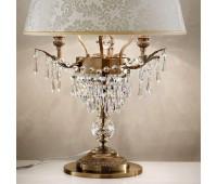 Настольная лампа Masiero Glasse TL3 G01  Бронзового цвета (brunito) - g01 (пр-во Италия)