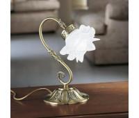 Лампа настольная Possoni 15/LM (008)    Античная латунь (пр-во Италия)