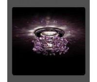 Точечный светильник Kantarel СD 003.2.5 violet  Хром (пр-во Россия)