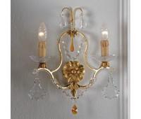 Бра   Epoca Lampadari 1409/A2 dec. 712  Античная, золотая фольга (пр-во Италия)