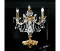 Настольная лампа Masiero VE 944 TL3 MT  Золото, прозрачный (пр-во Италия)