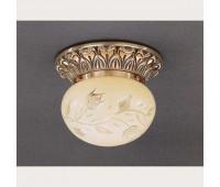 Накладной светильник Reccagni Angelo PL 7812/1 Oro Fr   Французское золото (пр-во Италия)