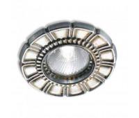 Точечный светильник Stillux 14301-F2  Серебро (пр-во Италия)