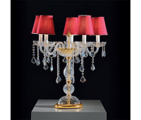 Настольная лампа  Voltolina(Classic Light) Dream tavolo 5L  Золото, прозрачный (пр-во Италия)