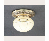 Накладной светильник Reccagni Angelo PL 7743/1 Bronzo arte  Бронза (пр-во Италия)