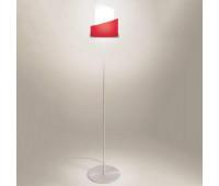 Торшер IDL 9001/1P red  Никель (пр-во Италия)