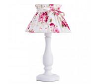 Светильник настольный Arte Lamp A7028LT-1WH MARGHERITA  Белый (пр-во Италия)