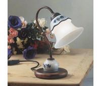 Настольная лампа Ferroluce C192 LU  Черная медь, белый (пр-во Италия)