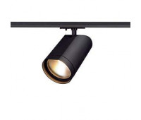 1PHASE-TRACK, BILAS светильник c COB LED 15Вт (16Вт), 2700К, 1000lm, 60°, черный SLV 143560  (пр-во Германия)