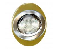 Встраиваемый светильник Feron 108T  Золото, хром (пр-во Китай)